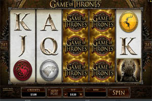 Claim an Extra 25% Bonus for the 'Game of Thrones' Slot