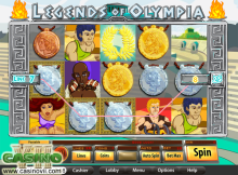 Legends of Olympia screen shot