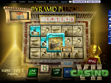 Pyramid Plunder screen shot