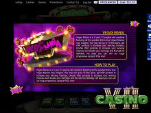 Vegas Mania screen shot