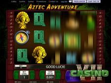 Aztec Adventure screen shot