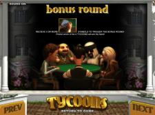 Tycoons screen shot