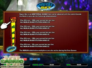 Merlin's Millions screen shot