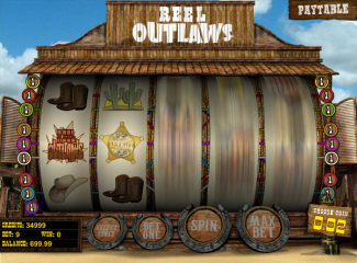 Reel Outlaws screen shot