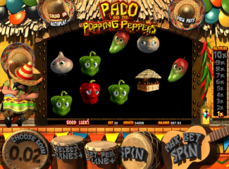 Paco & Popping Peppers screen shot
