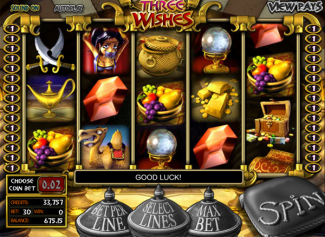 Three Wishes screen shot