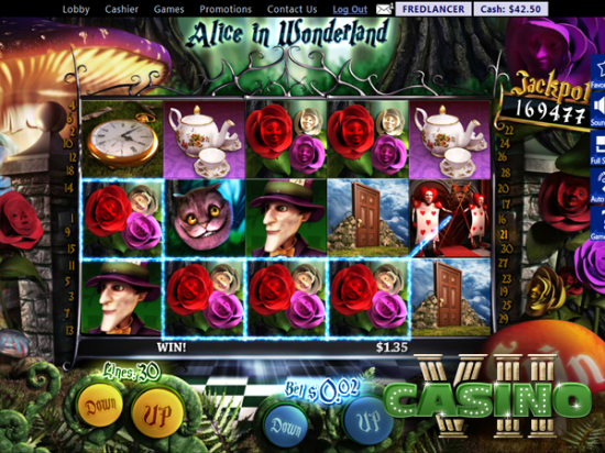 Alice in Wonderland screen shot