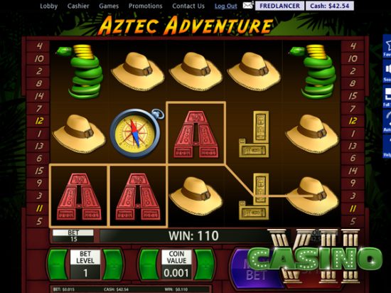 Aztec Adventure screen shot