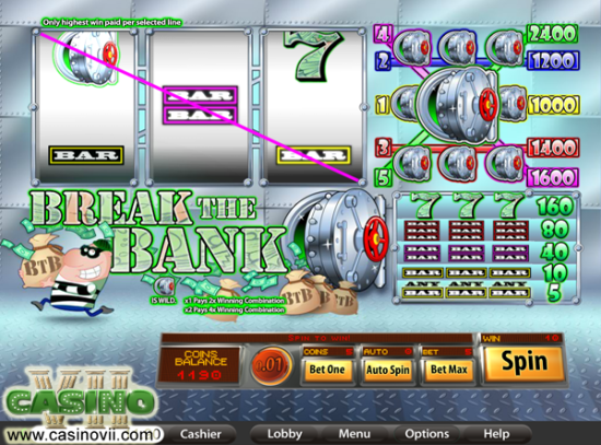 Break the Bank screen shot