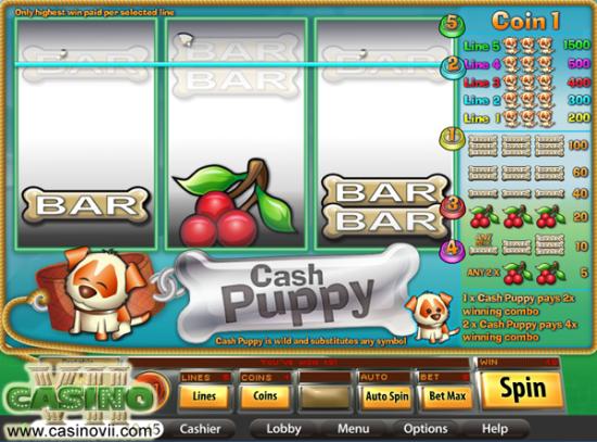 Cash Puppy screen shot