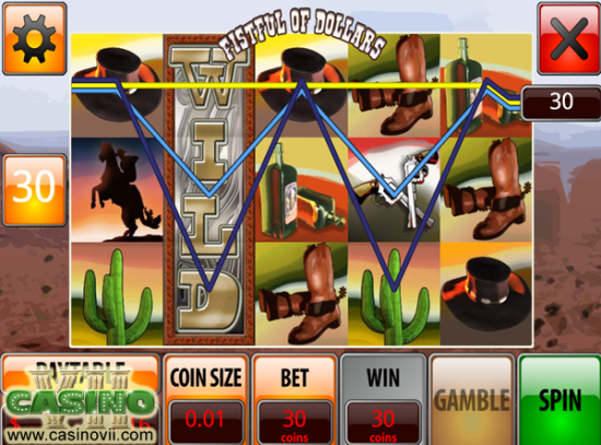 Fistful of Dollars screen shot