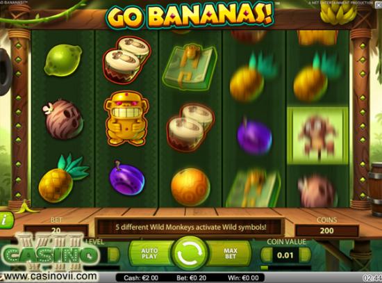 Go Bananas screen shot