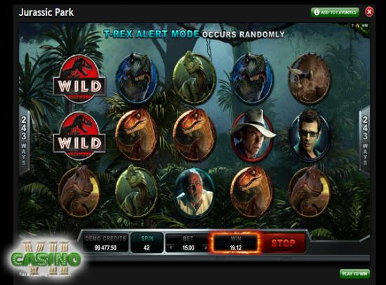 Jurassic Park screen shot
