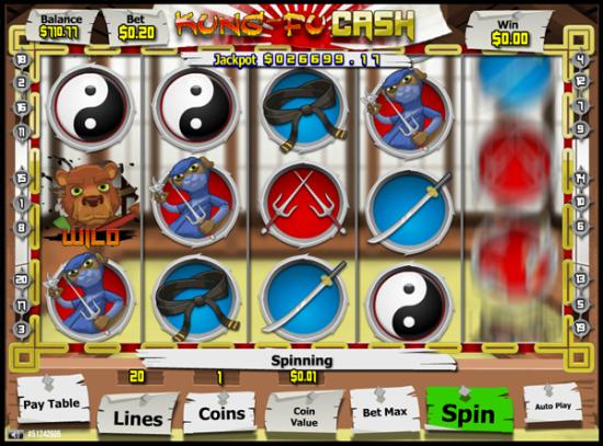 Kung Fu Cash screen shot