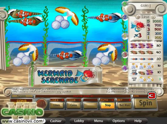 Mermaid Serenade screen shot