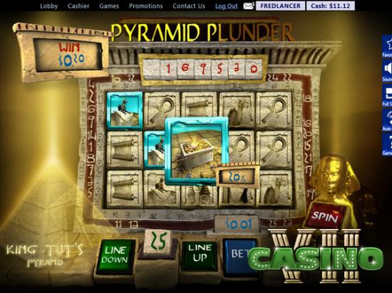 Pyramid Plunder screen shot