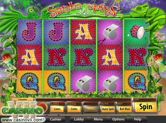 Samba Spins screen shot