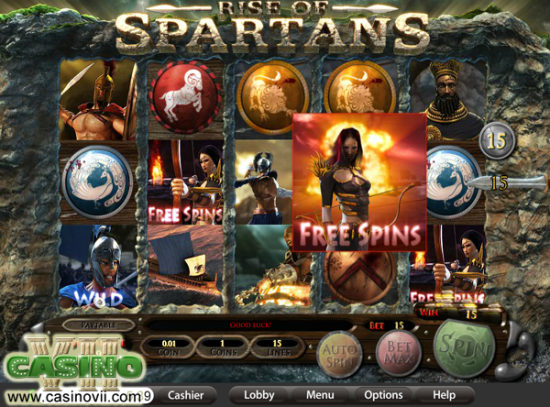 Rise of Spartans screen shot