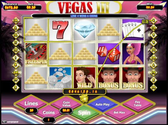Vegas Slot III screen shot