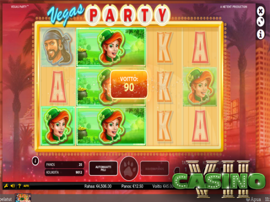 Vegas Party screen shot