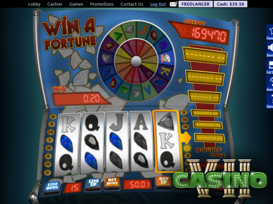 Win A Fortune screen shot
