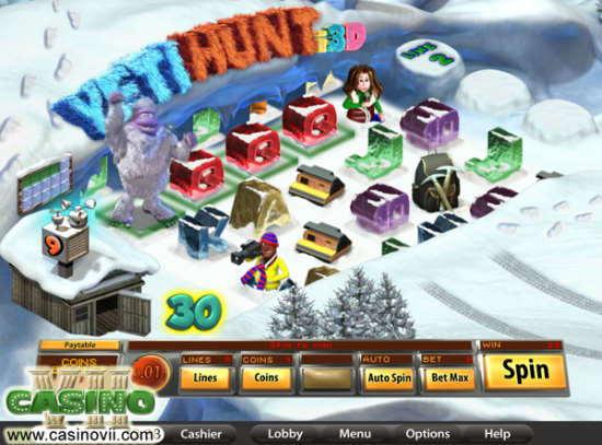 Yeti Hunt i3D screen shot